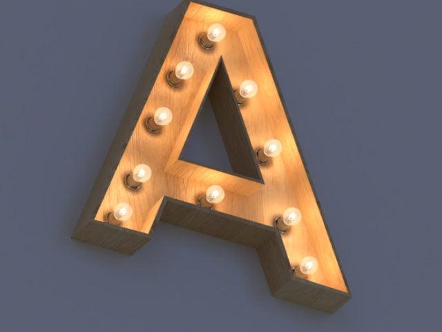 Изготовление объемных букв с подсветкой и без