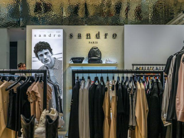 Интерьерное оформление бутика «Сандро», г.Москва
