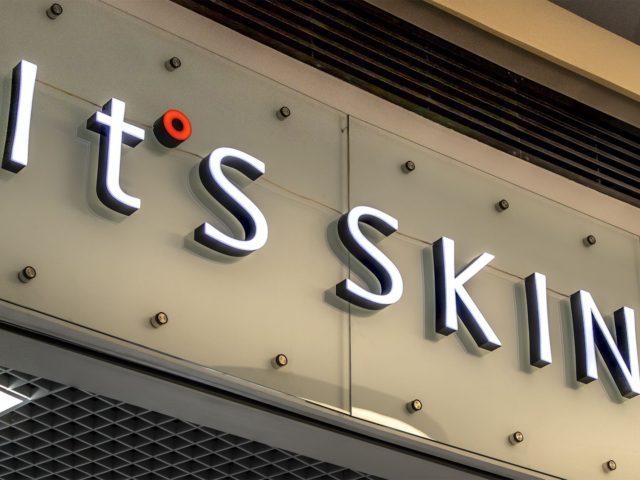 Интерьерная вывеска «It's skin» г. Москва