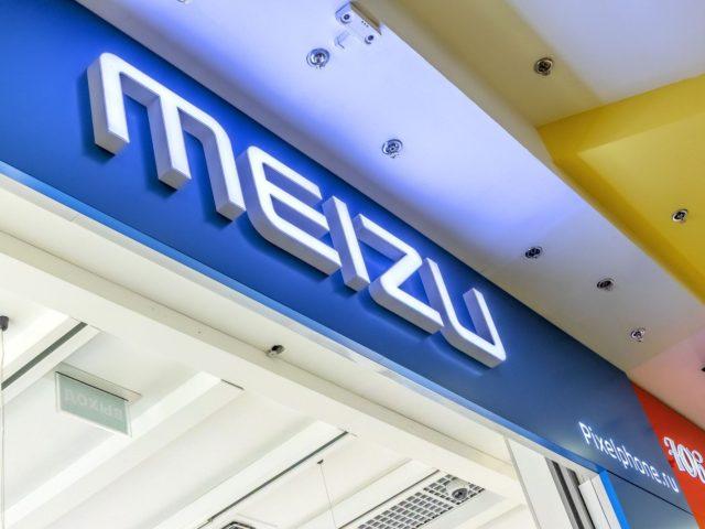 Интерьерная вывеска «Meizu»