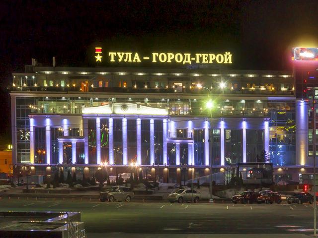 Крышные установки «Тула — город-герой» и «Гостиный двор»