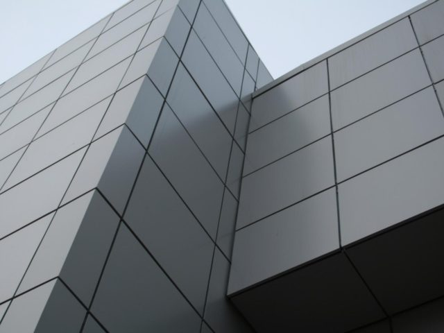 Вентилируемые фасады из АКП
