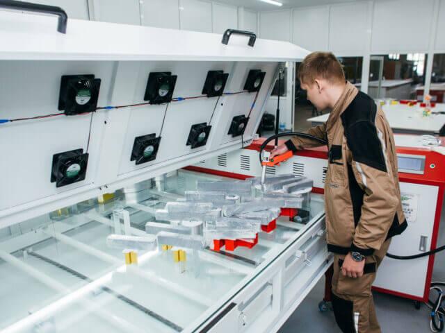 Приобретение нового оборудования для жидкого акрила