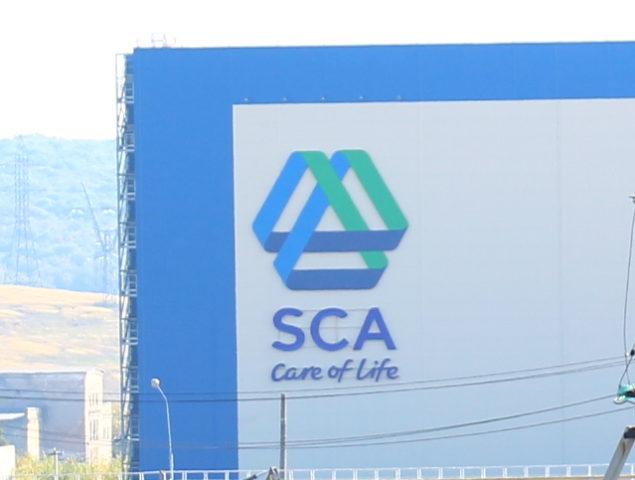 Рекламная конструкция «SCA»
